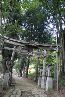 妻女山麓‧会津比売神社