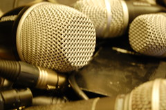Microphones by Rusty Sheriff, on Flickr
