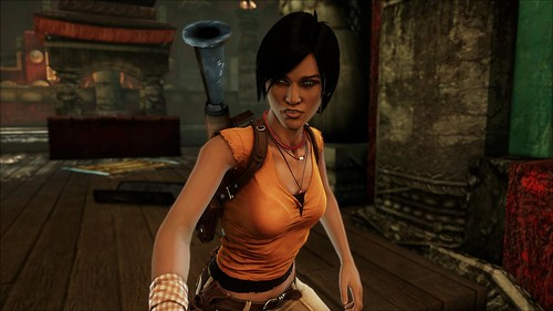 UNCHARTED 2 Multiplayer Skins: Chloe