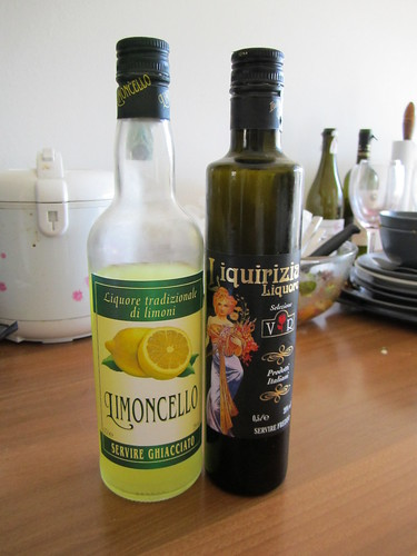 Limoncello and Licorice drink