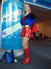 She's a real Supergirl! (goribob) Tags: washington san spokane comic diego con 2010