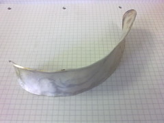 Anticlastic Bangle (Work in Progress)