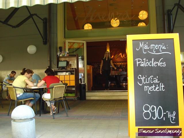 Restaurante Menza - Budapeste