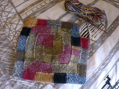 10-stitch Scrappy Sock Blanket