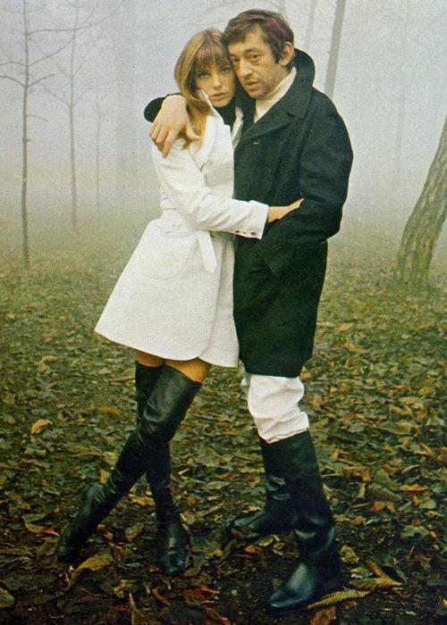 Serge Gainsbourgh & Jane Birkin