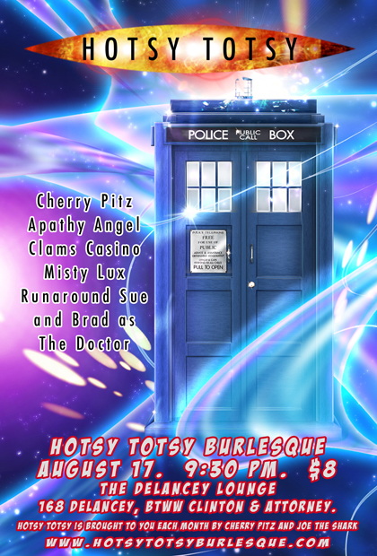 HotsyTotsy's Doctor Who Burlesque Show