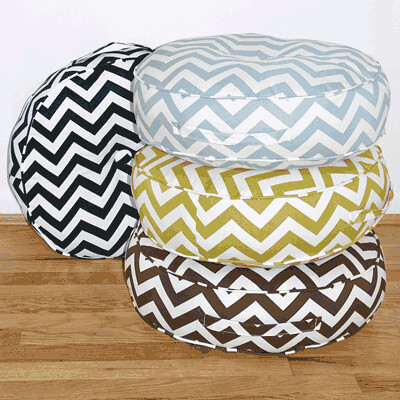 chevronfloor pillow