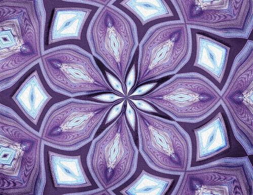 Purple kaleidoscope