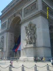 Arc de Triomphe: Paris, France (`Jenna`) Tags: paris france up de close arc triomphe peopletopeople