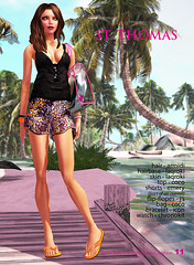 (Rose N.) Tags: avatar icon sl coco secondlife js emery seasonsummer slfashion secondlifefashion armidi laqroki chronokit stylebeach
