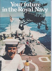 """Your future in the Royal Navy"" (schnauzerwhisperer) Tags: military british 1980s brochure dido recruitment rn royalnavy seniorservice"