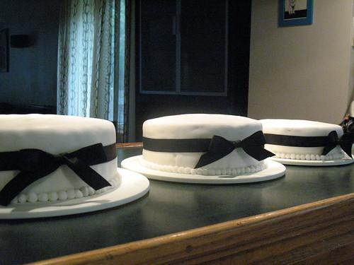 three cakes