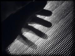 Strange #3 (Sascha Unger) Tags: light shadow blackandwhite bw berlin art silhouette mystery germany design licht scary hand angle perspective eerie sascha sw schatten perspektive iphone pictureshow schwarzweis sascha2010 saschaunger