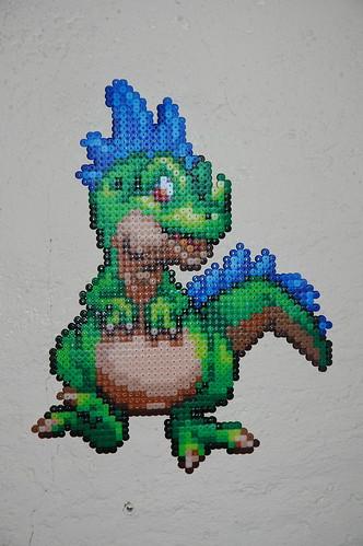 Perler Dragon