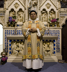 Assumption Day 2010 (Lawrence OP) Tags: lady newcastle dominican chapel stdominics deacon ditchling dalmatic