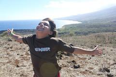Alex at Haleakala