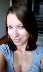 Week 10/52 New hairstyle ({ Kasia Skrzypek }) Tags: haircut selfportrait hair selfpicture newhairstyle aunaturel 52weekproject