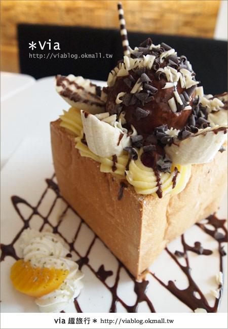 【台北東區美食】時尚午茶首選~Chin Chin Cafe蜜糖吐司19