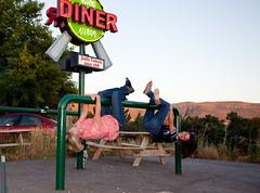 Huh? (Flickr_Rick) Tags: strange different ashley diner unusual huh