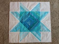 Challenge Quilt 1 First block 004
