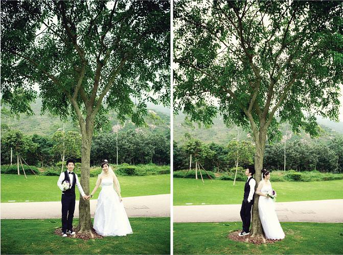 迪欣湖 pre-wedding