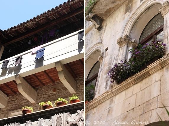 Trogir - balconi
