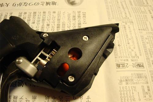 Sram Doubletap lever dismantle 02