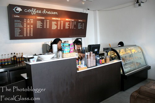 Coffee Dream Cafe Counter