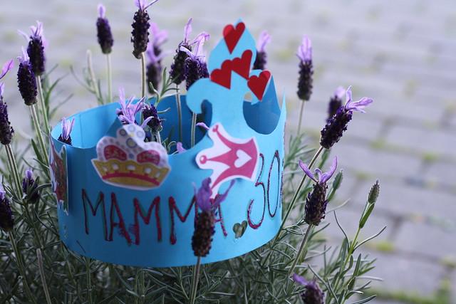 Mamma 30 år = Moi!