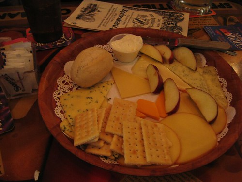 weak cheese platter