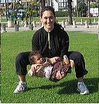 bebek ile egzersiz yapma