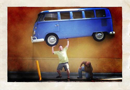 John vs. The Minibus