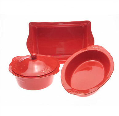 red bake set