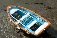 2010-08-10  12-03-27 (Tangi22293556) Tags: boat colorful mud asturias vase lowtide bateau espagne color asturies marebasse