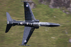 RAF Hawk T2 ZK031 (PhoenixFlyer2008) Tags: wales speed google hawk aircraft military knife neil images valley edge bates bae 19 raf t2 squadron idris cadair warton lfa7 zk031