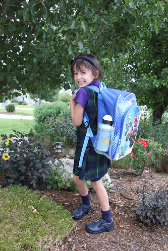 Reagan First Day of Kindergarten