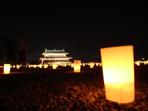 平城宮跡夏季フェア「光と灯りのフェア」-15