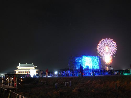 平城宮跡夏季フェア「光と灯りのフェア」-11