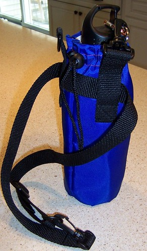 Mets 'Believe' water bottle carrier