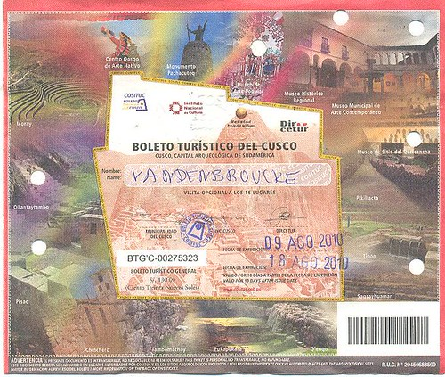 cuzco-boleto general
