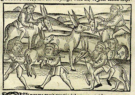 Pater, Filius et Asinus