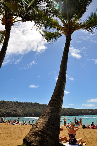 Hanauma Bay,Beach