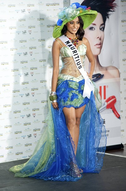 National Costume of Miss Mauritius