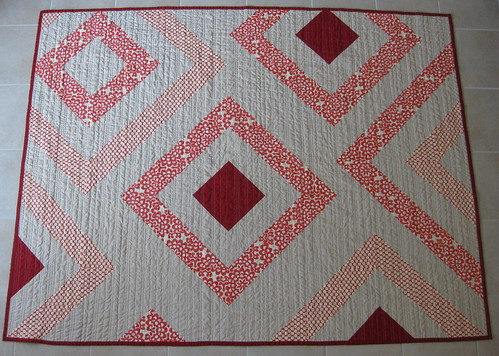 squares quilt front