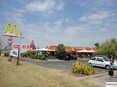 McDonald's Arles Station Service BP & C.C. Geant Casino (France)