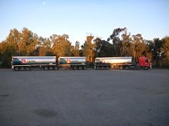 Geraldton Fuel (dieseljocky) Tags: truck australia coe fuel roadtrain kenworth geraldton cabover k104