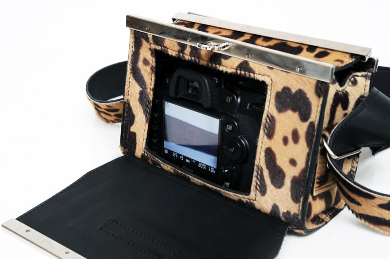 Luxirare fashion Nikon D90 camera bag 7