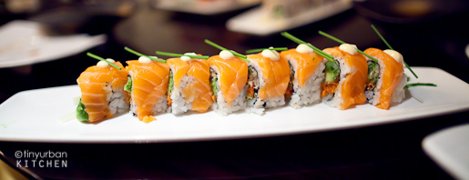 Oishii Boston Sockeye Salmon Roll