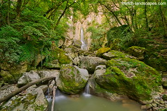 Barbennaz waterfall (FrenchLandscapes) Tags: trees france nature forest river french landscape waterfall europe natural scenic environment hdr hautesavoie oloneophotoengine barbennaz