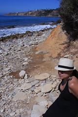0005_SuzieTest (katNovoa) Tags: lighthouse southbay beachhat pointvincent shortblackdress suzielara